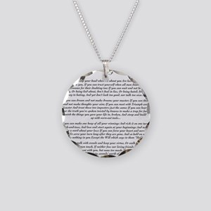 Graduation Baccalaureate IF  Necklace Circle Charm