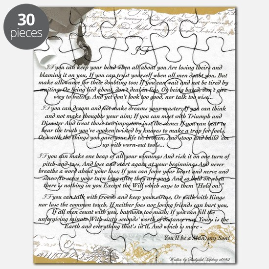 Graduation Baccalaureate IF by Rudyard Kipl Puzzle