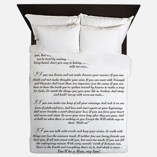 Graduation Key To The Future IF by Rud Queen Duvet