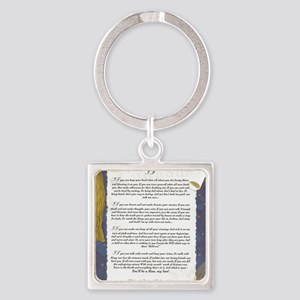 Graduation Key To The Future IF by Square Keychain