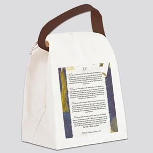 Graduation Key To The Future IF b Canvas Lunch Bag
