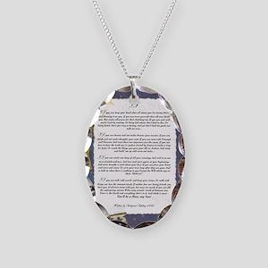 Graduation Key To The Future I Necklace Oval Charm