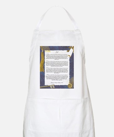 Graduation Key To The Future IF by Rudyard K Apron