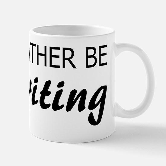 Rather Be Writing Mug