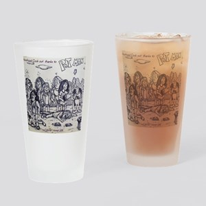PotMan neighborhood cook out Drinking Glass