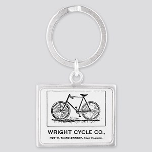 Wright Cycle Co Landscape Keychain
