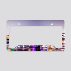 Water Color License Plate Holder