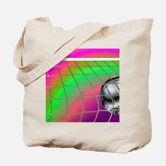 Rainbow Volleyball  Net Tote Bag