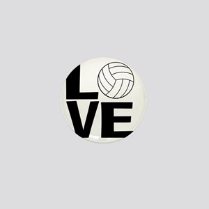 Volleyball Love Mini Button
