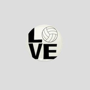 Volleyball Love Mini Button