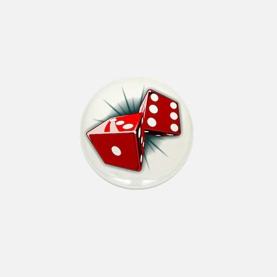 Dice Pair Mini Button