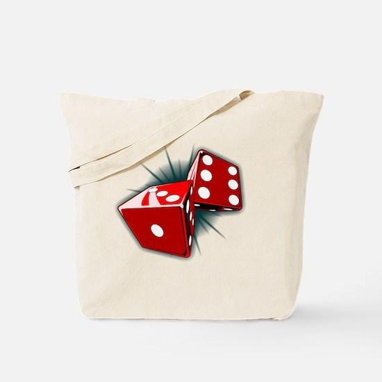 Dice Pair Tote Bag