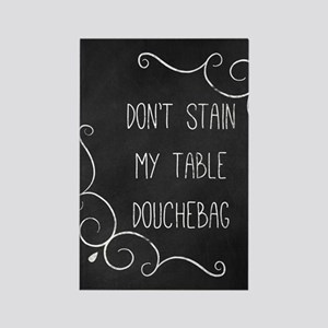coaster-stain-7 Rectangle Magnet