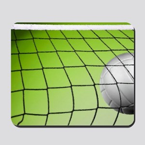 Green Volleyball  Net Mousepad