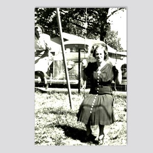 Granny on the Swings Postcards (Package of 8)