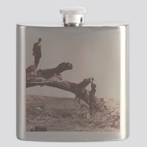 1920s rest stop Flask
