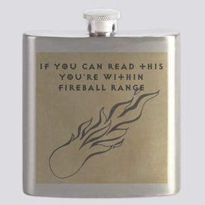 Fireball range Flask