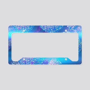Outer Flow III Aqua Spheres License Plate Holder