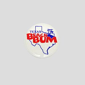 Texas Beach Bum Mini Button