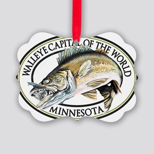 Walleye Capital of the World Picture Ornament