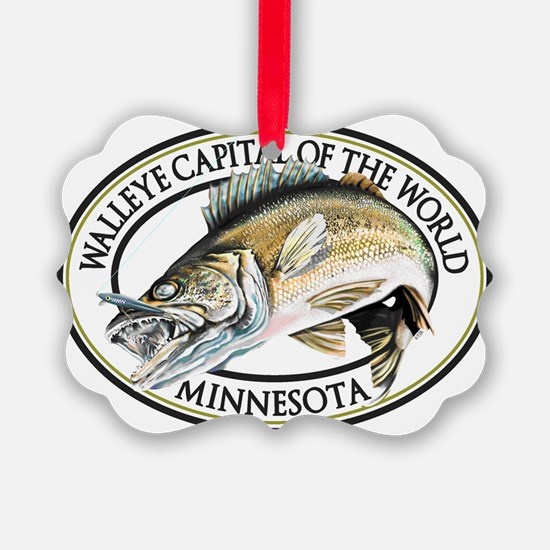 Walleye Capital of the World Ornament