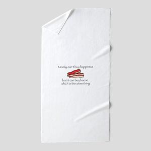 Bacon Money Beach Towel