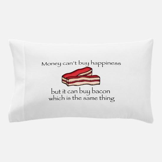 Bacon Money Pillow Case