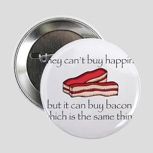 """Bacon Money 2.25"""" Button"""