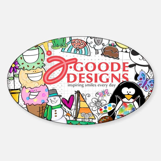 jgoode 2013 Sticker (Oval)