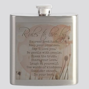 Rules to Live By Flask
