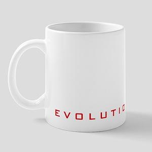 evolution of man hockey player Mug