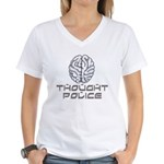 Thought Police Women's V-Neck T-Shirt