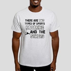 Kayaking designs Light T-Shirt