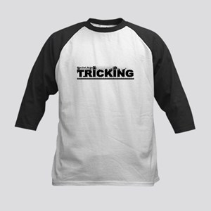 Martial Arts Tricking Logo Baseball Jersey