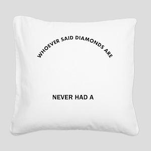 Borzoi Mommy Designs Square Canvas Pillow