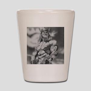Conan The Barbarian Shot Glass
