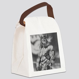 Conan The Barbarian Canvas Lunch Bag
