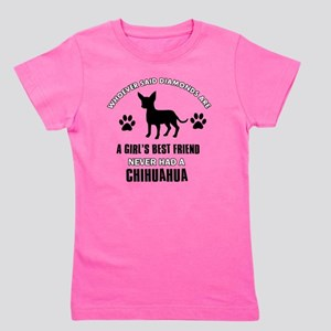 Chihuahua Mommy Designs Girl's Tee