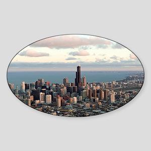 Chicago Sticker (Oval)