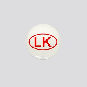 LK Oval (Red) Mini Button