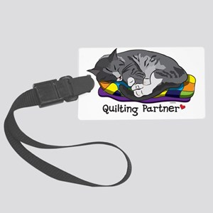 Quilting Partner Large Luggage Tag