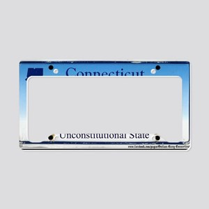 Connecticut Outlaw Plate License Plate Holder