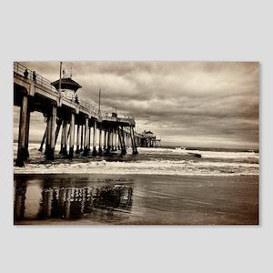Huntington Beach CA Pier Postcards (Package of 8)