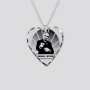 Science works Necklace Heart Charm