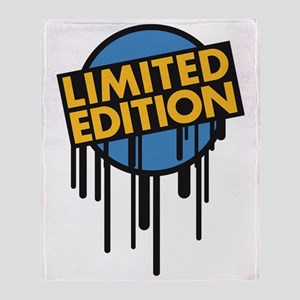 limited_edition_graffiti_stamp Throw Blanket