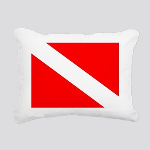 Dive Flag Rectangular Canvas Pillow