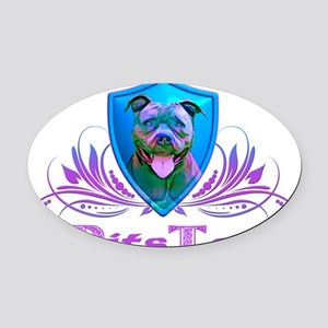 Pitster Oval Car Magnet