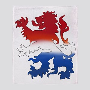 Dutch Lion Throw Blanket