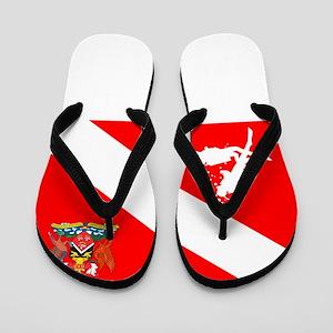 Dive Trinidad and Tabago Flip Flops
