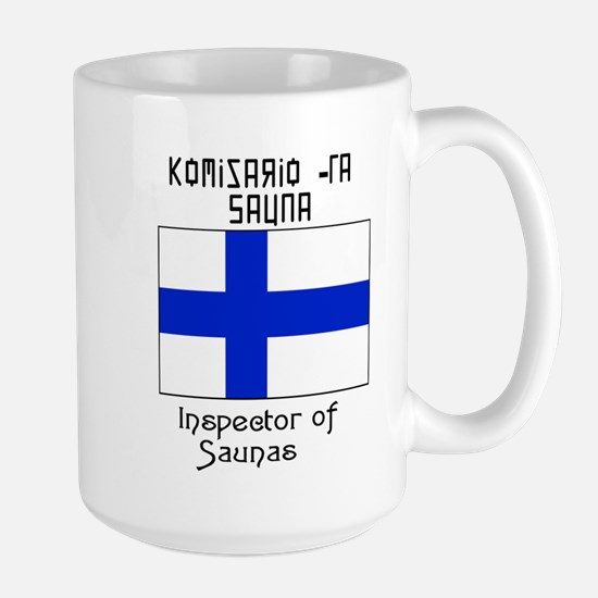 Finnish Inspect of Saunas Mugs